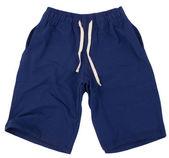 Sportovní šortky. izolované na bílém pozadí. — Stock fotografie