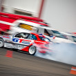 Drift car in action — Foto Stock