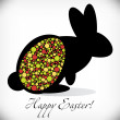 Happy Easter greeting card — Stock Photo