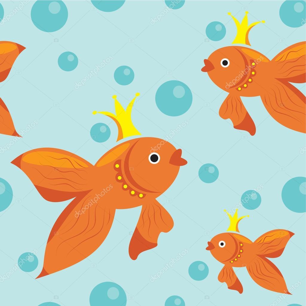 скачать шаблон золотой рыбки