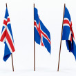 Flag of Iceland — Foto de Stock   #1850916