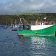 Stock Photo: Trawler in Fowey estuary, Cornwall, UK