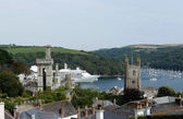 Fowey estuary, Cornwall, UK — Stock Photo