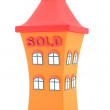 House sold — Stock Photo