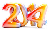 2014 New Year digits — Stock Photo