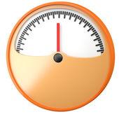 Cartoon-styled gauge — Stock Photo