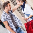 Young Couple with Shopping Bags - Foto Stock