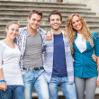 Group of Friends Embraced — Stock Photo #12863472