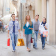 Group of Friends with Shopping Bags — Stock Photo #12864384