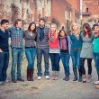 Multicultural Group of — Stock Photo #13093831