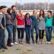 Multicultural Group of — Stock Photo #13093855