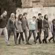 Multicultural Group of Walking Together — Stock Photo #13094924