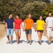 Group of Friends Walking Outside — Stock Photo #13374164