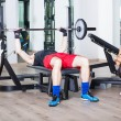 Young Couple at Gym — Stock Photo