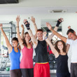 Royalty-Free Stock Photo: Group of at Gym