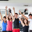 Group of at Gym — Stock Photo #13381249