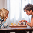 Children Playing Chess — Stock Photo