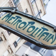 Metro Sign in Paris — Stock Photo #14035981