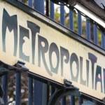 Metro Sign in Paris — Stock Photo #14039332