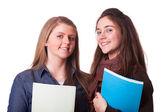 Due studentesse adolescenti — Foto Stock