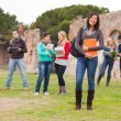 Multicultural College Students — Stock Photo #14361613