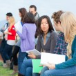 Multicultural College Students — Stock Photo #14362261