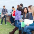 Multicultural College Students — Stock Photo #14362411