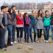 Multicultural Group of — Stock Photo #14362615