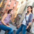 Couple of Women in the City — Stock Photo #14487561