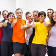 Group of Friends with Thumbs Up — Stock Photo #14937267