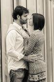 романтичная молодая пара — Стоковое фото