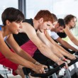 Group of Cycling at Gym — Stock Photo #15603153