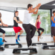 Aerobics Class in Gym — Stock Photo #15603523