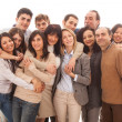 Large Group of , Big Family — Stock Photo #18240479