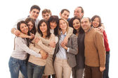 Large Group of , Big Family — Stock Photo