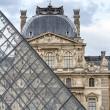 Royalty-Free Stock Photo: Musee du Louvre with the Pyramid