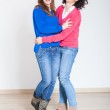 Two Beautiful Women Together — Stock Photo