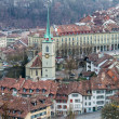 Stock Photo: Houses in City of Bern, Swiss