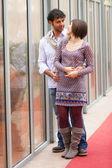 Romantyczna para młoda — Zdjęcie stockowe