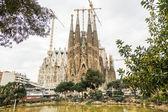 Sagrada Familia on a Sunny Day — Stock Photo