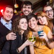 Group of Friends in a Night Club — Stock Photo #22177491