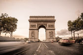 Arch de Triomphe in Paris — Stock Photo