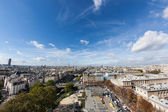 Paris seen from the top of Notre Dame — Stok fotoğraf