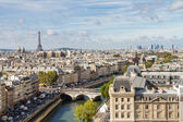 Paris seen from the top of Notre Dame — Stock Photo