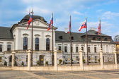 Presidential Palace in Bratislava, Slovakia — Stock Photo