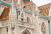 Saint Matthias Church in Budapest — Stock Photo