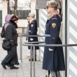 Guards at Prague Castle — Stock Photo
