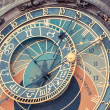 Stock Photo: Famous Astronomical Clock in Prague