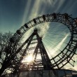 Stock Photo: Wiener Riesenrad, Famous Ferris Wheel in Wien