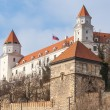 Famous Old Castle in Bratislava - Stock Photo